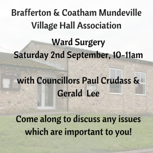 Brafferton & Coatham Mundeville Village Hall Association